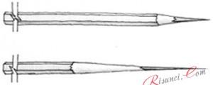 заточка карандаша