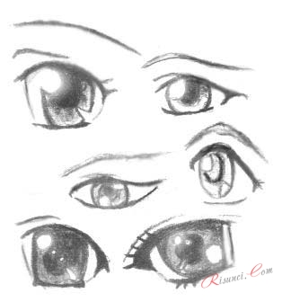 глаза крупным планом