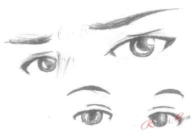 красивые глаза аниме