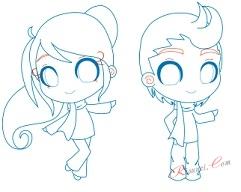 Рисовать чибики аниме