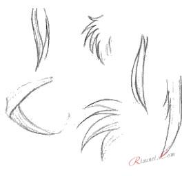 примеры волос