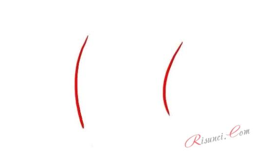 вертикальные линии носа