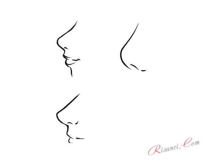 нос аниме