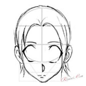 Рисуем карандашом голову
