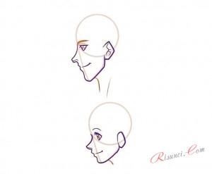 лица в профиль