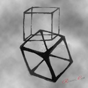 Куб в пространстве