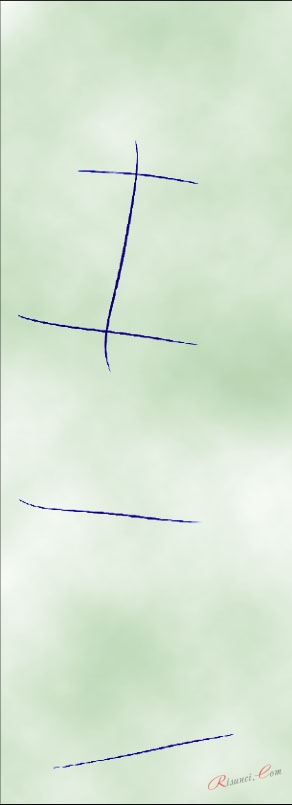 наброски линий