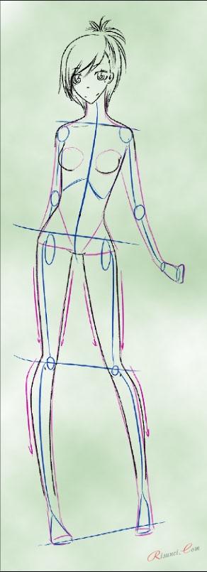 ноги и руки аниме
