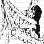 Ангел карандашом