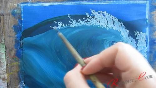 рисование гуашью