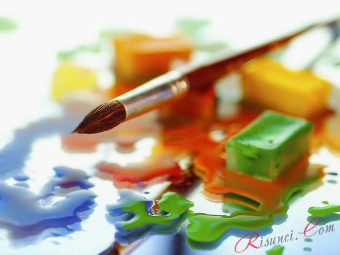 Смешивание красок поэтапно