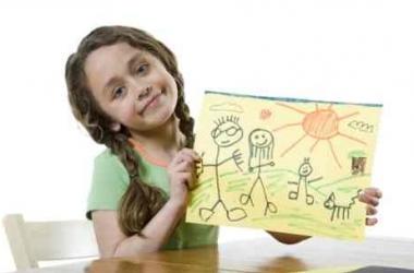 готовый рисунок ребенка