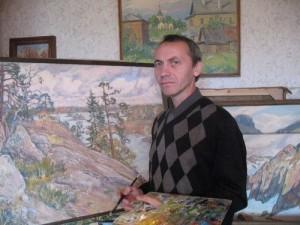 Художник В. Пантелеев