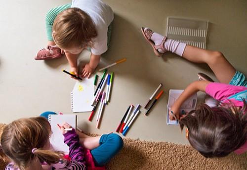 Подготовка к рисованию семьи