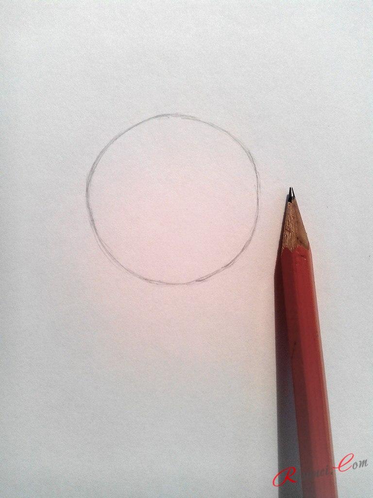 рисуем круг от руки