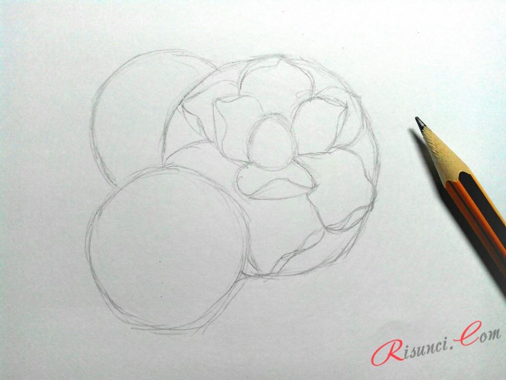 Прорисуем самый большой цветок