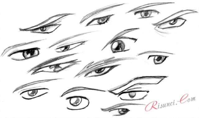 аниме картинки глаз