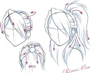 прядь волос