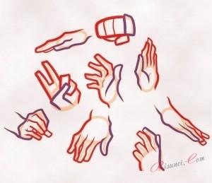 пальцы и запястья