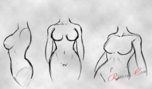 тело аниме девушки