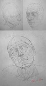 ракурсы портрета