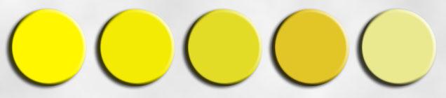 Насыщенность цвета, количество и яркость