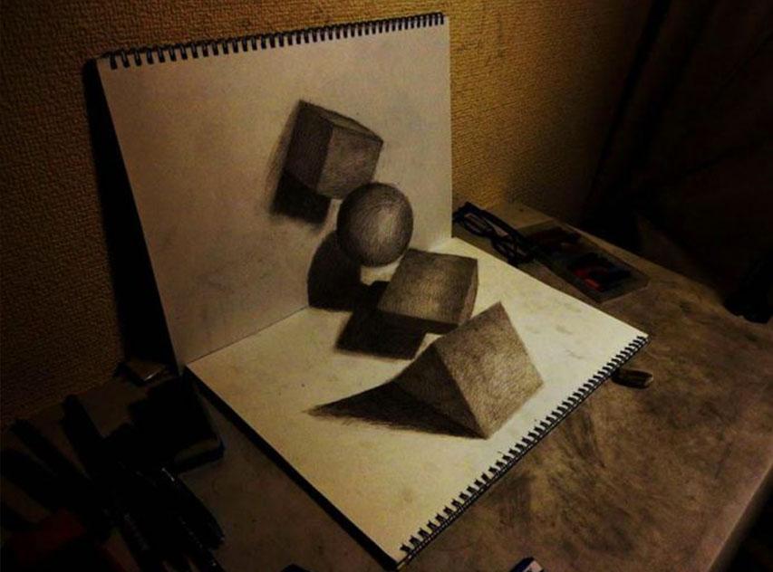 Объемные фигуры 3D