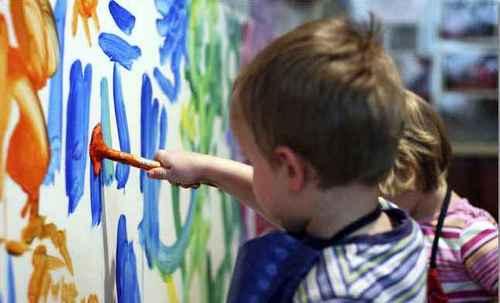 рисующие дети