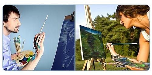 Взрослые художники