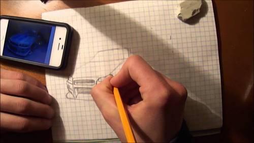 срисовывание рисунка