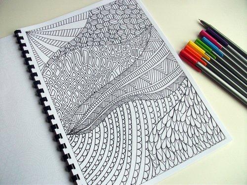 doodle, zentangle и zendoodle
