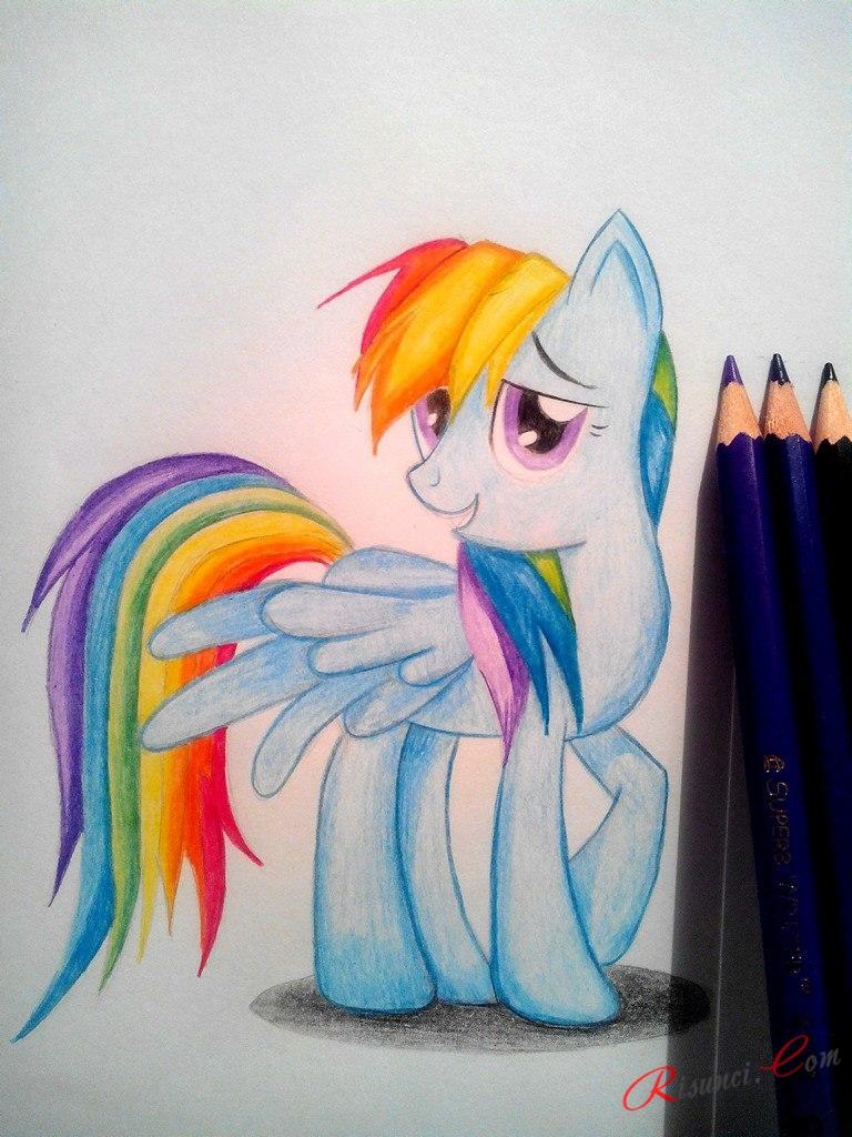 рисунок пони готов