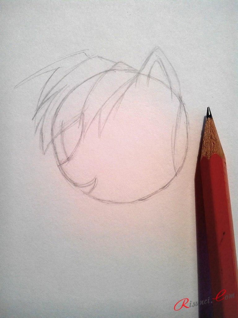прорисовываем мордочку пони
