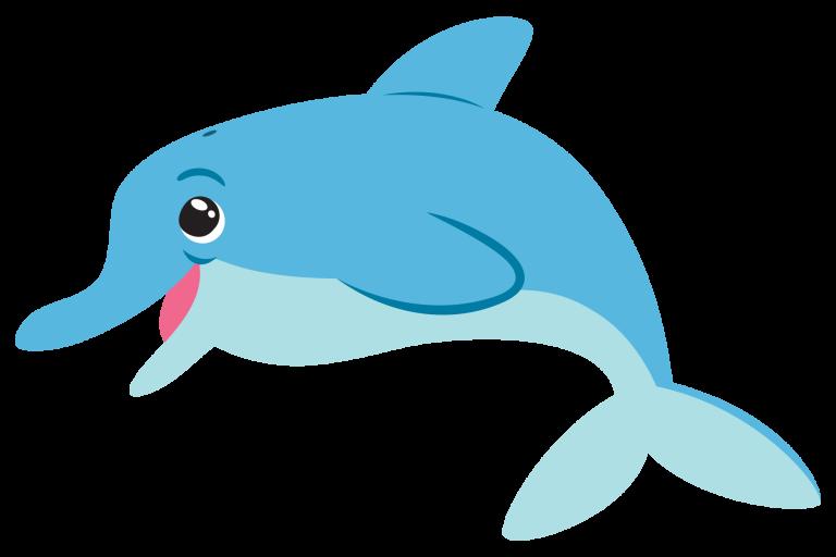 как просто нарисовать дельфина поэтапно для детей