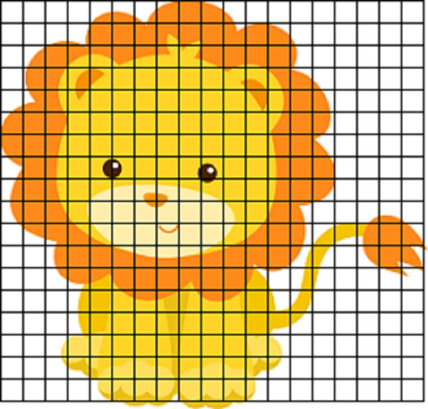 как воспроизвести рисунки по клеточкам для девочек 12 лет