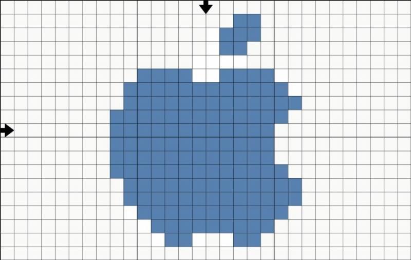 как понять технику рисунков по клеточкам для начинающих фото 1