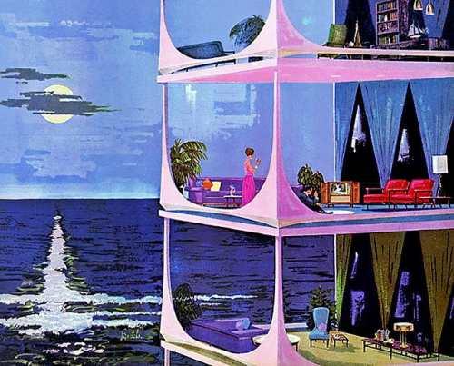 дом будущего - рисунок карандашом на фото 3