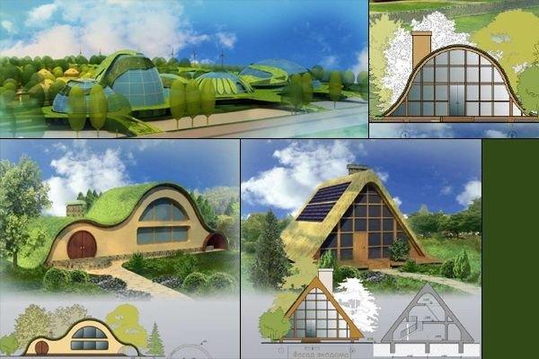 как нарисовать дом будущего рисунок карандашом фото 9
