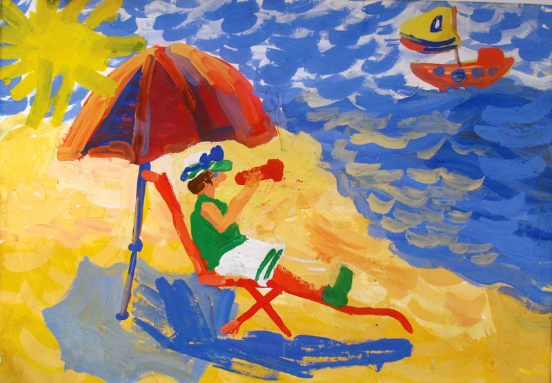 море в одном из его нарядов, рисунок на фото для 2 класса фото 9
