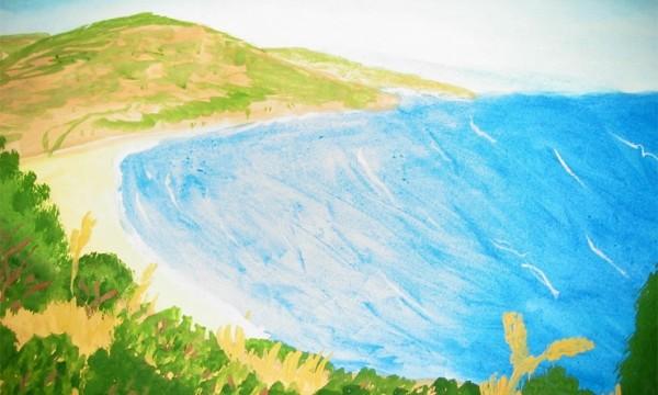 море в одном из его нарядов, рисунок на фото для 2 класса фото 10