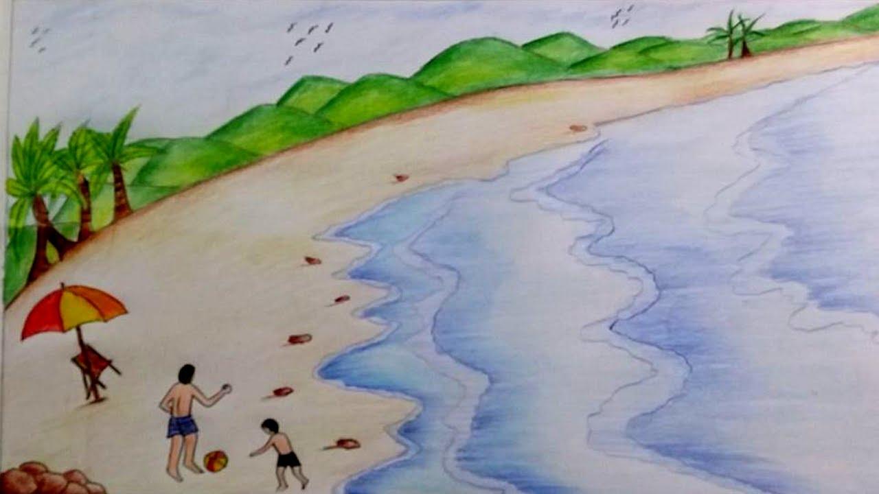 море в одном из его нарядов, рисунок на фото для 2 класса фото 11