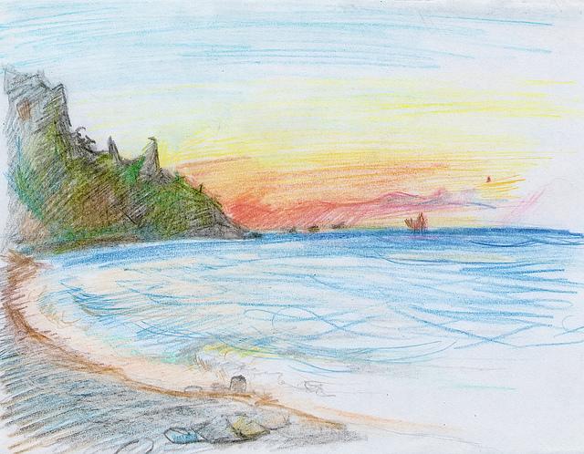 фото примеры моря в одном из его нарядов 2