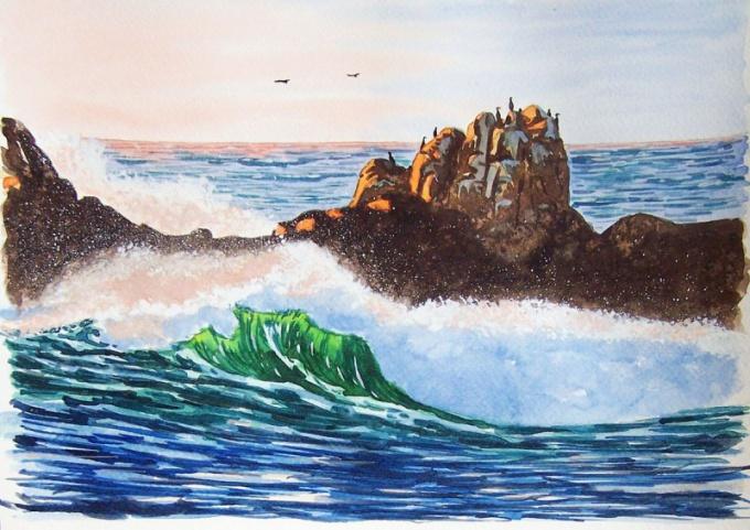 фото примеры моря в одном из его нарядов 3
