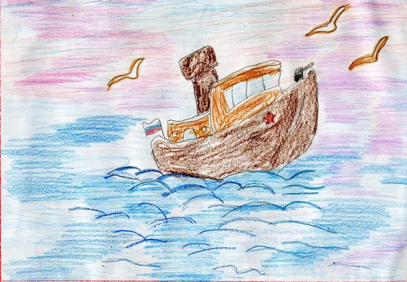 море в одном из его нарядов, рисунок на фото для 2 класса фото 4