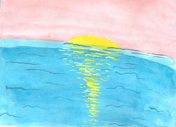 море в одном из его нарядов, рисунок на фото для 2 класса фото 5
