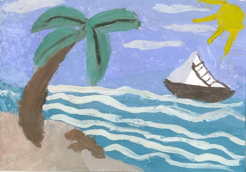 море в одном из его нарядов, рисунок на фото для 2 класса фото 6