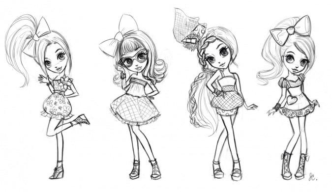 классные рисунки для срисовки для девочек фото 9