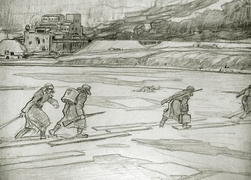 простой рисунок Сталинградской битвы фото 3