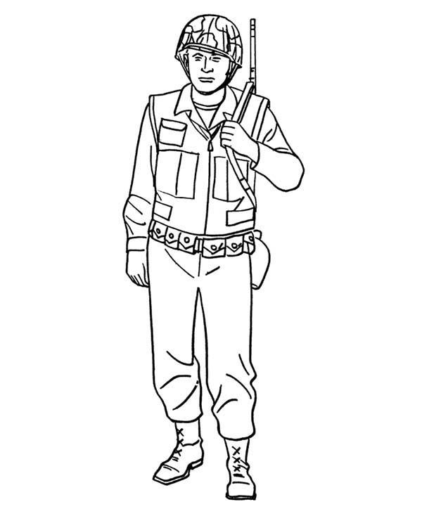рисунок солдата фото 3