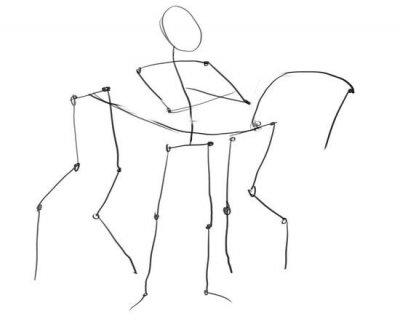 рисунок русского богатыря карандашом фото 1